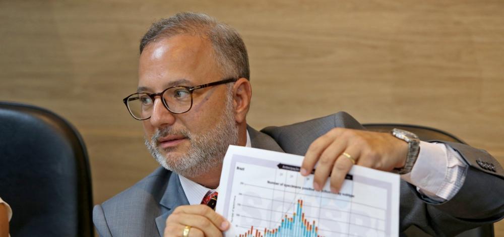 Dados do Ministério da Saúde são inconsistentes, diz Fábio Vilas-Boas